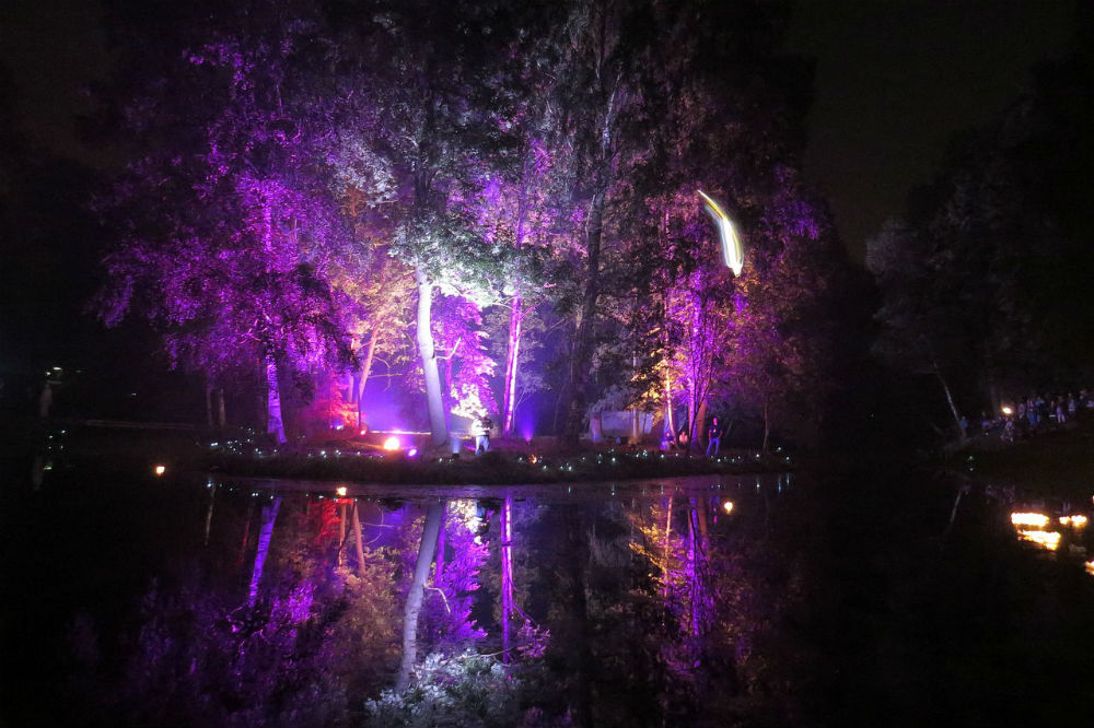 Night of Lights in Gatchina