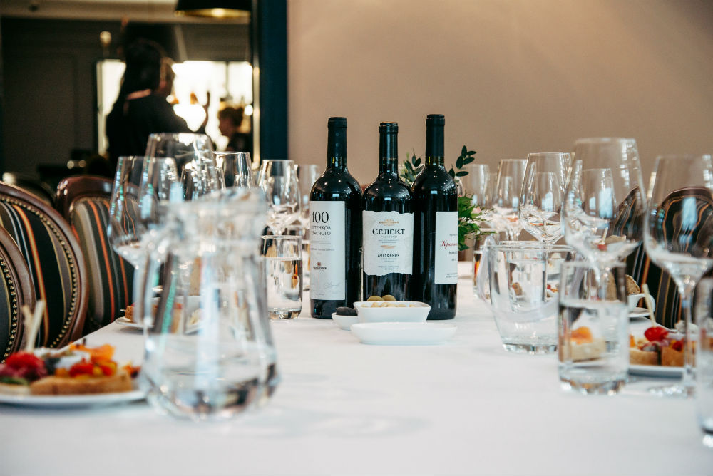 Russian Wine Degustation at the Dom Boutique Hotel